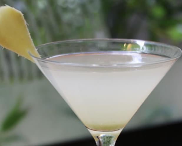 Ginger And Lemongrass Martini