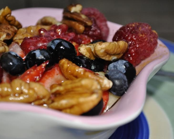 Paleo Honey Nut Berries