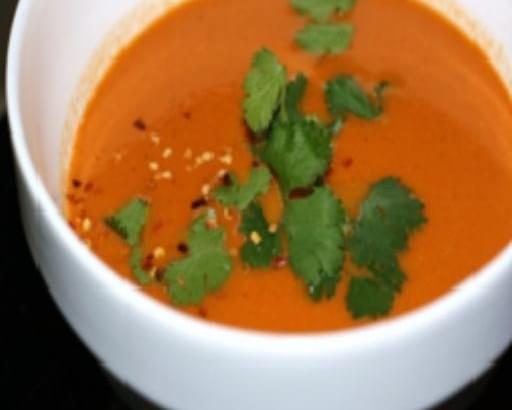 Tandoor Roasted Tomato Soup