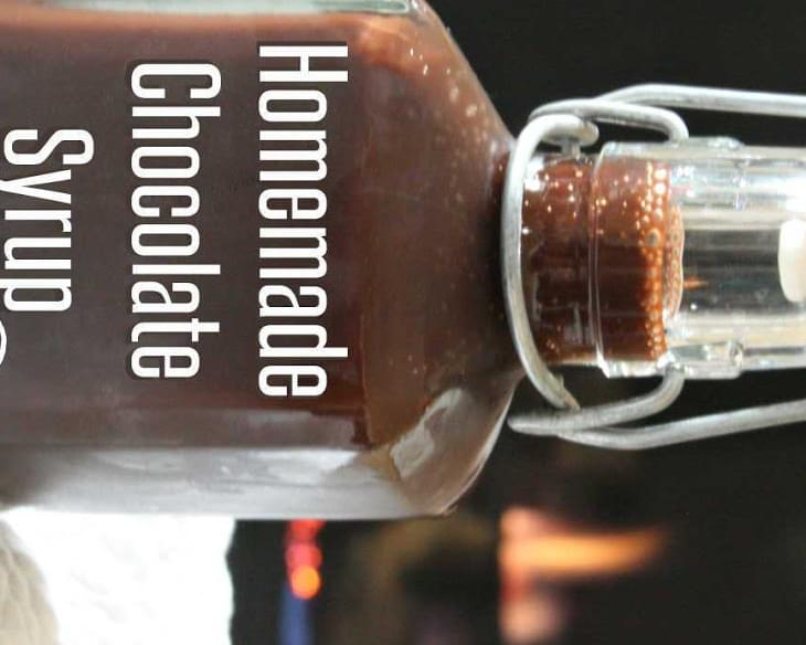 Homemade Chocolate Syrup {Dairy-Free & Soy-Free}