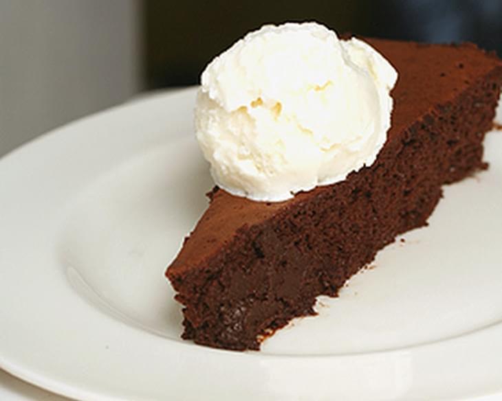 Chocolate-Espresso Mousse Cake Recipe