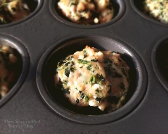Meatball Meals - Spinach and Feta Edition
