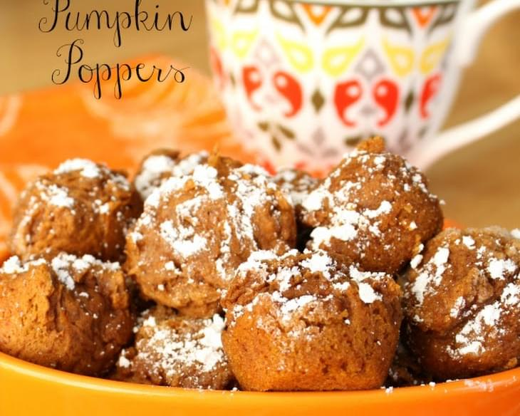 Mini Pumpkin Poppers