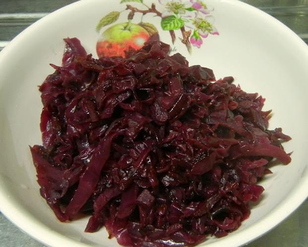 Octoberfest - Braised Red Cabbage