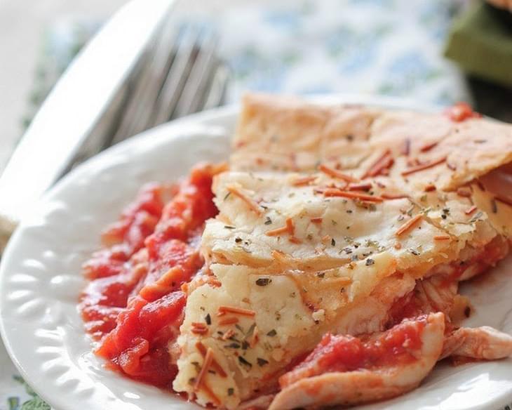 Chicken Parmesan Skillet Pot Pie Recipe