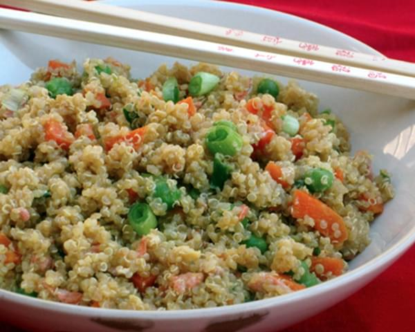 Quinoa & Vegetable Stir Fry