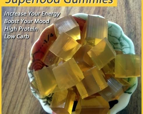 Superfood Gummies — Perfect Non-Stimulant Energy Boost!