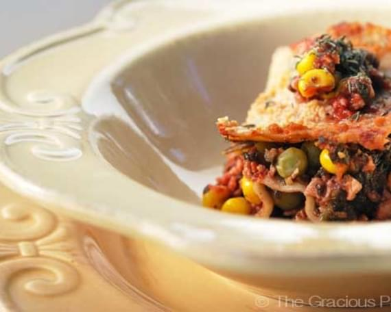 Clean Eating Vegetarian Lasagna