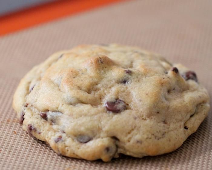 Giant Hershey Kiss Stuffed Chocolate Chip Cookies Recipe