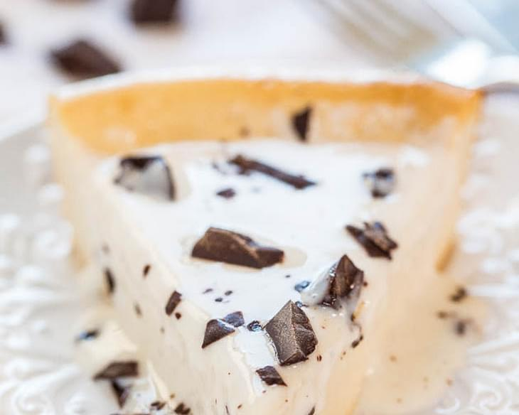 Easy Blender-Batter Self-Crusting Cheesecake
