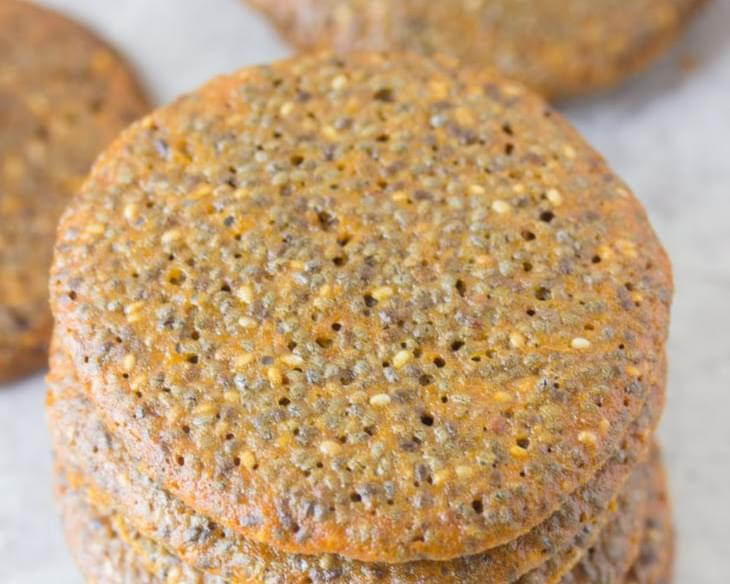 Chia Seed Wafer Cookie