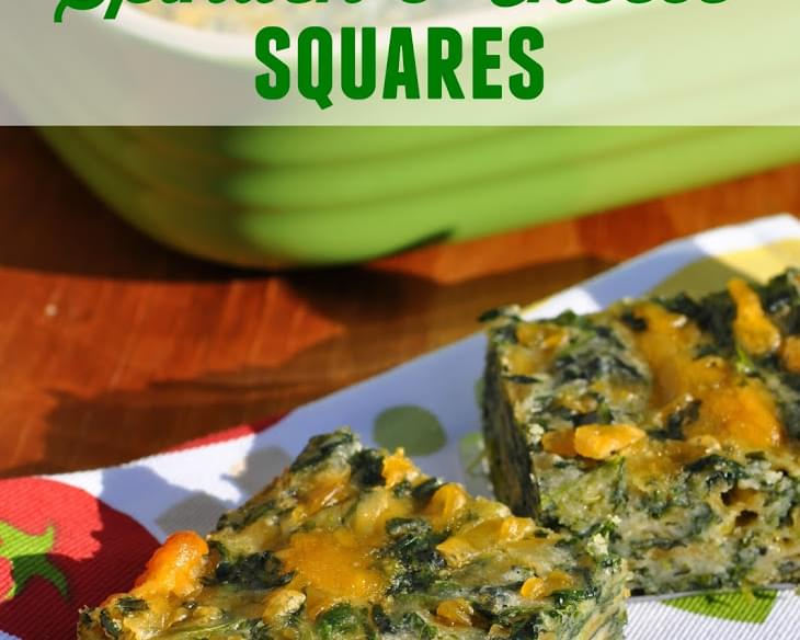 Aunt Bee's Spinach and Cheese Squares