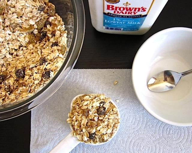 Muesli (cold Oats)