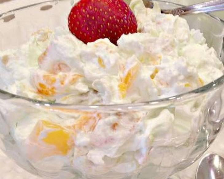 Pistachio Fruit Fluff Salad