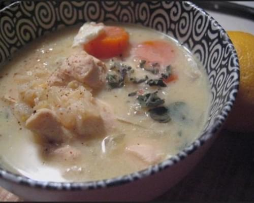 Low Calorie Lemony Chicken Soup recipe – 110 calories