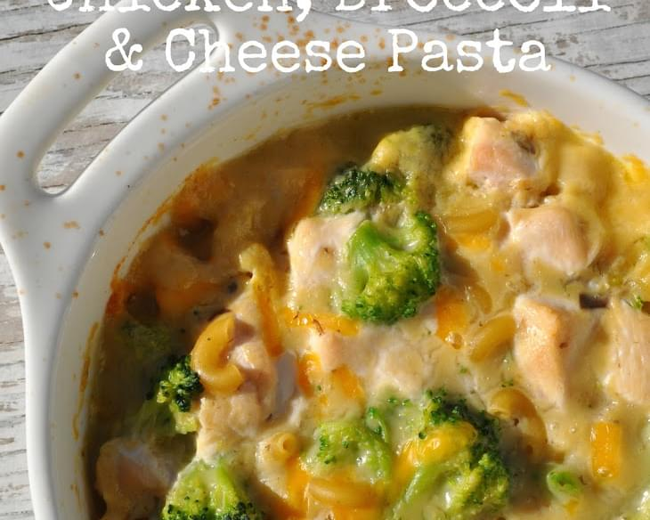 1 Dish Chicken, Broccoli, and Cheese Pasta