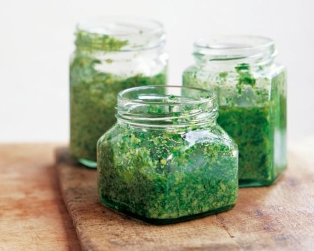 Parsley And Lemon Pesto