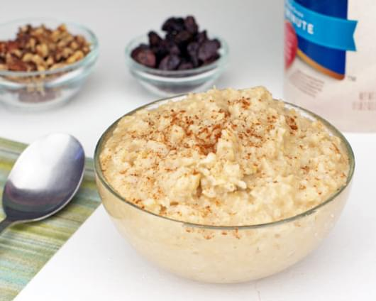 Best Ever Maple-Cinnamon Oatmeal