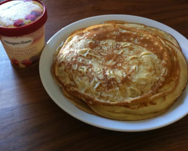 Crepes Or Danish Pancakes