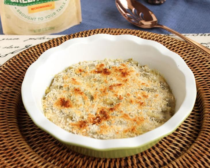 Easy Cheesy Green Bean Casserole