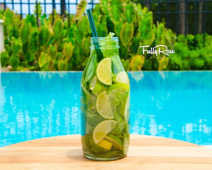 THE FULLYRAW MINT BASIL JULEP!