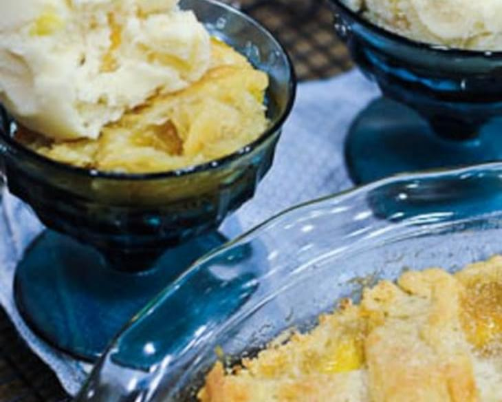 Grandmother's Peach Cobbler