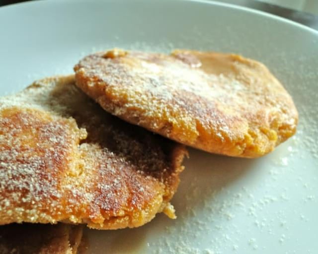 Sweet Potato Vanilla Patty Cakes (Vegan, GF)