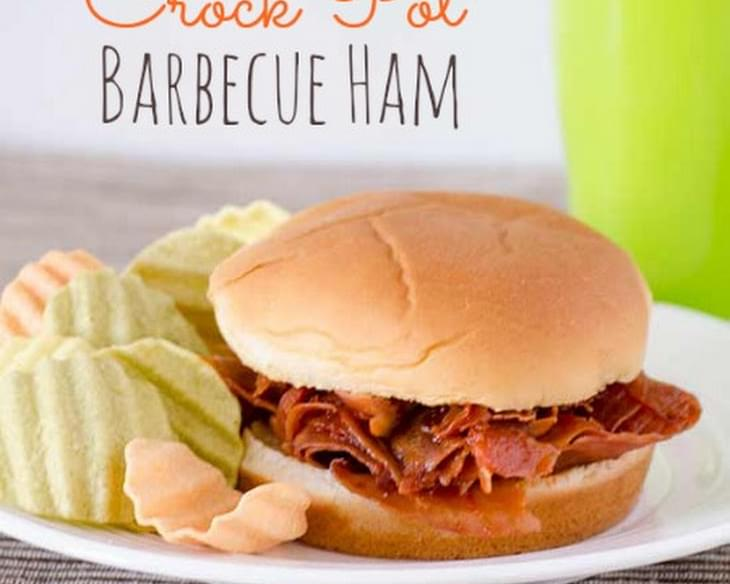 Crock Pot Barbecue Ham