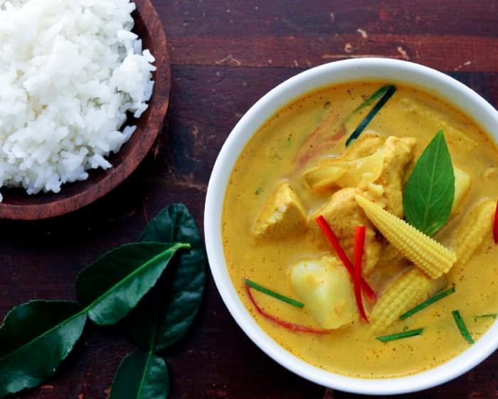 Yellow Curry with Chicken and Potatoes | Gang Garee Gai | แกงกะหรี่ไก่
