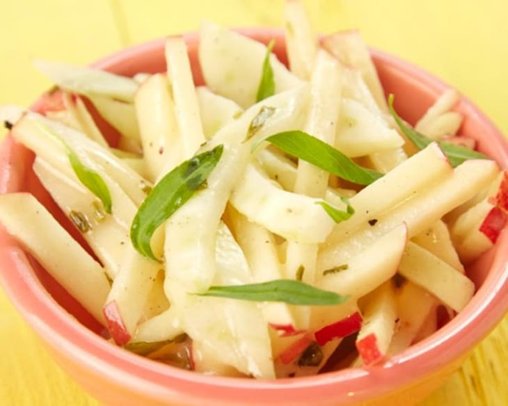 Apple Fennel and Tarragon Slaw