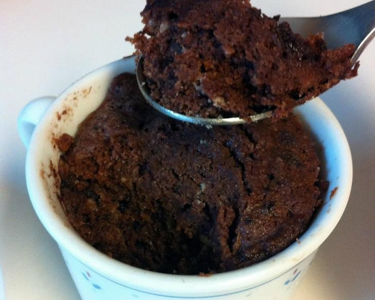 Paleo Chocolate Cake In A Cup
