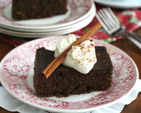Slow Cooker Gingerbread
