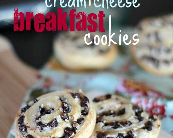 Chocolate Chip Cream Cheese Breakfast Cookies