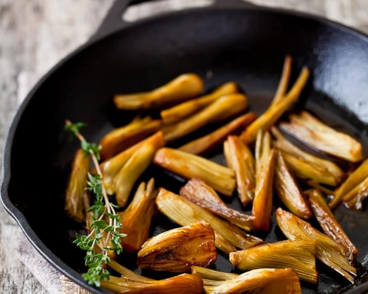 Orange and Pastis Braised Baby Fennel
