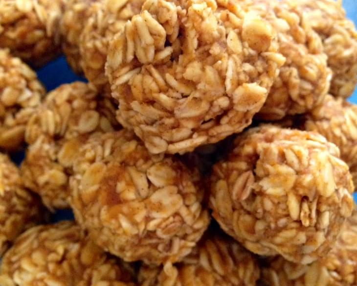 No-Bake Pumpkin Oat Bites