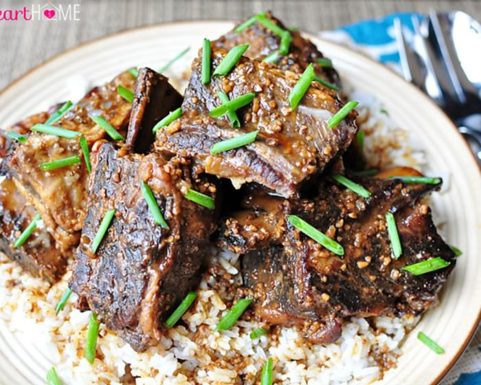 Slow Cooker Asian Beef Short Ribs