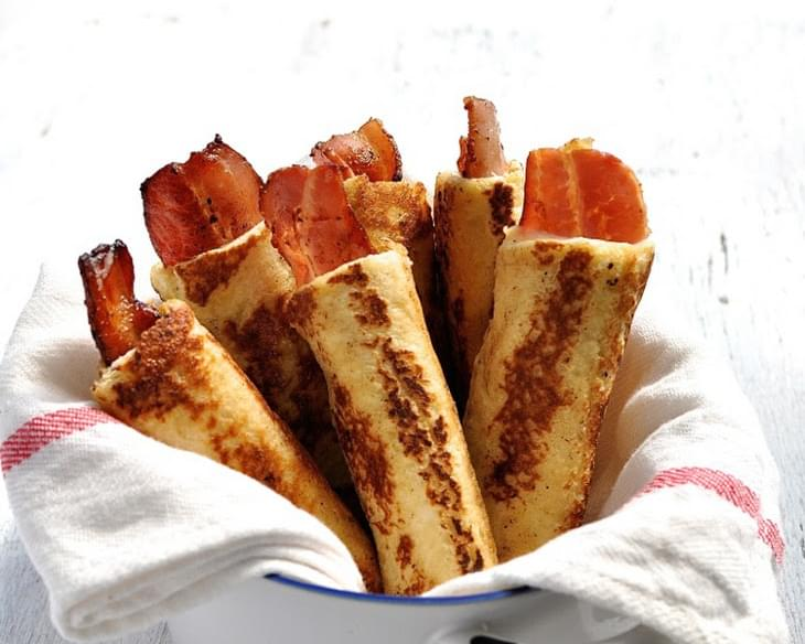 Bacon French Toast Roll Ups