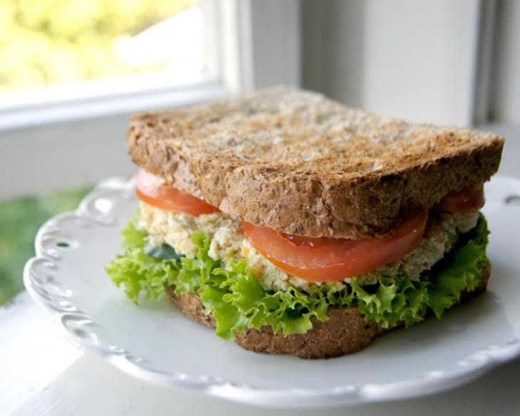 "Vegan Chickpea ""Tuna"" Sandwich"