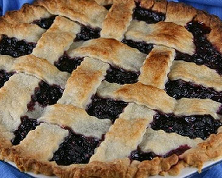 Wild Huckleberry Pie