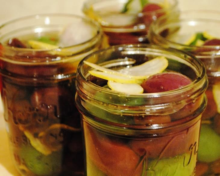 Boozy Olives for #SundaySupper