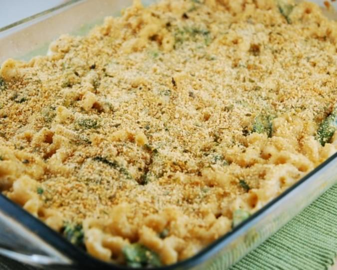 Three Cheese Baked Mac and Cheese