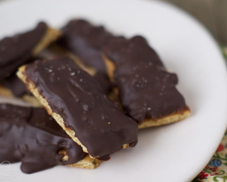 Chocolate Peanut Butter Graham Bars