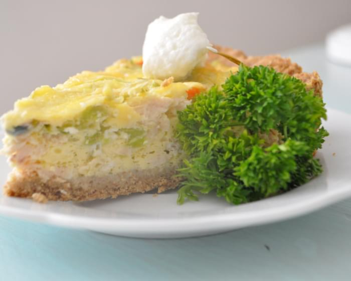 Protein Packed Chicken and Broccoli Quiche