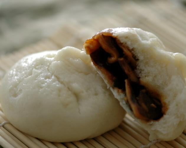 Vegetarian Steamed Pork Buns (Bao)