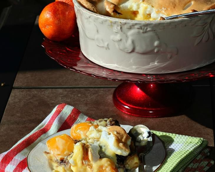 Hot Swiss Peach Trifle