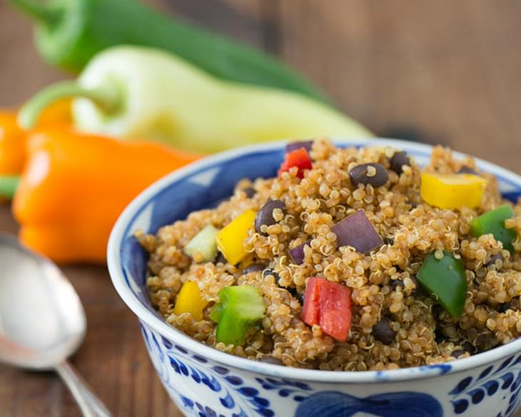 Mexican Black Bean Quinoa