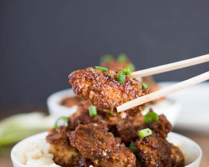 Crispy Asian Chicken Bites
