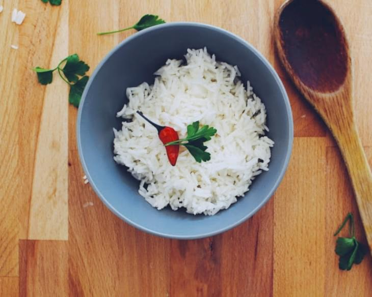 Perfect Fluffy White Rice