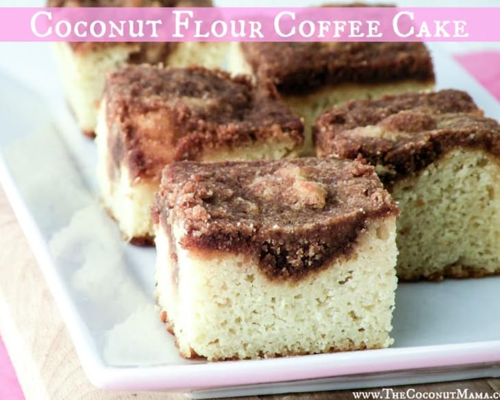 Sunday Special Coffee Cake (Grain Free + Dairy Free)