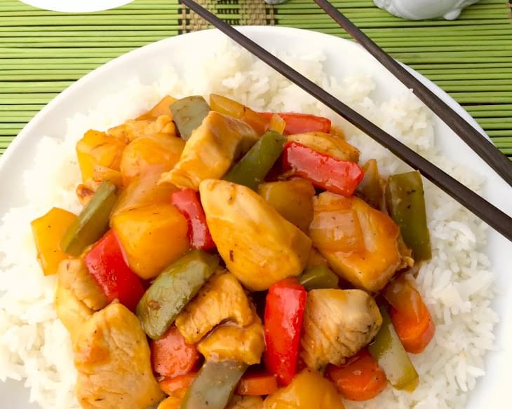 Sweet and Sour Chicken-part 2